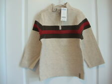 Gymboree HOLIDAY EXPRESS Beige Brown Red Zip Top Box Size 5 NWT - Fall Winter