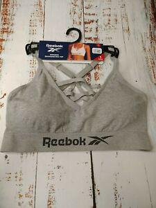 Reebok 1 Pack Womens Seamless Bra Top (Box 15)