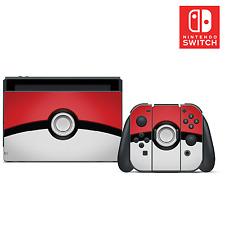Pokémon Pokeball Vinilo Piel Sticker Set for Nintendo Switch