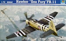 Trumpeter 1:72 Hawker Sea Fury FB.11 Aircraft Model Kit
