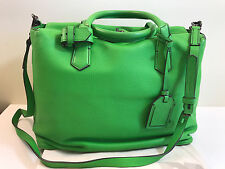 REED KRAKOFF GYM BAG I in TECHNO GREEN ~VERY RARE Color !!!