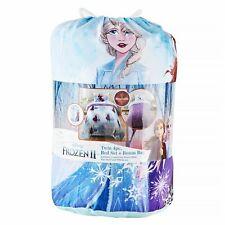 Frozen II Twin Bed Set 4 Piece Plus Bonus Bag New Comforter Sheet set