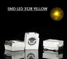 3528Y 100pcs SMD LED 3528 Yellow  LEDs  Everest NEW