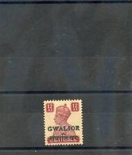 INDIA (GWALIOR) Sc 126(SG 137)**VF NH 1949 12a LAKE, SCARCE,  $2750