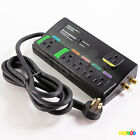 Monster Green Power HDP 650G Center Dual Mode Plus Surge Protector 2160 Joules