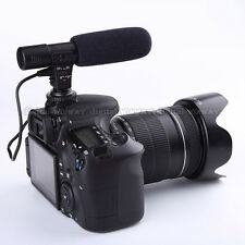 Professional Shotgun Condenser Stereo Microphone for DV DSLR Camera etc MIC-01