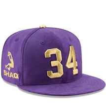 SHAQ SHAQUILLE ONEAL 1/34 NEW ERA SUEDE HAT Baseball Basketball NBA supreme