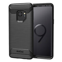 Case Protection for Galaxy S9 Case Quality Product Rugged Impact TPU Black
