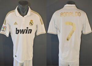 Real Madrid Ronaldo Trikot 2011/2012 Fußball Herrenhemd Camiseta Größe M