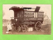 Peterborough 1 Church Army Caravan God is Love unused RP pc Webster Ref A570