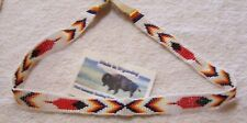 HAND MADE BEADED HAT BAND RENDEZVOUS BLACK POWDER MOUNTAIN MAN 9