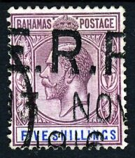 British Colony Used George V (1910-1936) Bahamian Stamps