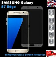 Full 3D Curved Tempered Glass Screen Protector for Samsung S7 EDGE Transparent