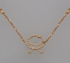 204a8618de878c Rose Gold 18 Carat Fine Diamond Necklaces & Pendants for sale | eBay