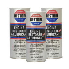 THE WORLDS LEADING ENGINE RESTORE OIL - AMETECH - 3 X 400ML ENGLISH CANS