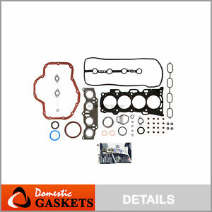 Fits 01-06 Toyota Highlander Solara RAV4 Scion tC 2.4 MLS Full Gasket Set 2AZFE