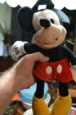 MICKEY MOUSE STUFFED LARGE PLUSH BACKPACK KID'S DISNEY DOLL 17 INCH W/ STRAPS