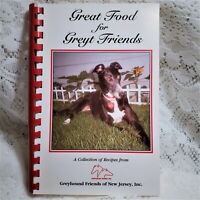 Greyhound Friends of New Jersey Cookbook Spiral Fundraiser 2004