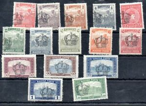 Old stamps of 1919 Zagrab  MNH Privat issue without guarantee 15 pc