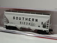 N-SCALE INTERMOUNTAIN RAILWAY 66519 SOUTHERN 2-BAY HOPPER BLACK LETTERING