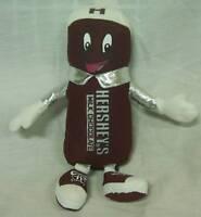 """HERSHEY'S MILK CHOCOLATE BAR CHARACTER MASCOT 9"""" Plush STUFFED ANIMAL Toy"""