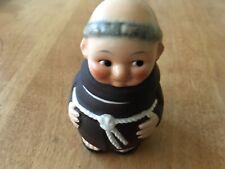 Goebel Friar Tuck Monk 2 Piece Jelly/Mustard Jar West Germany