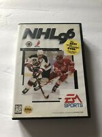 NHL 96 Sega Genesis COMPLETE EA Sports Cleaned & Tested