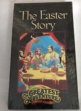 NEW Greatest Adventure Stories From the Bible - The Easter Story (VHS)