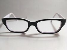 RayBan Jr. RB 1527 3579 Black/White Flex Hinge Eyeglass Frames 45[]15 125