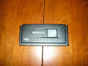 Vintage Intel Pentium II Processor Slot 1 SL2U6 400MHz 80523PY400512PE Used