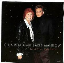 "Cilla Black & Barry Manilow - You'll Never Walk Alone - 7"" Record Single"