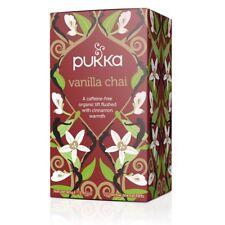Pukka Organic Herbal 20 Tea Sachets Teabags - Vanilla Chai