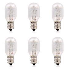 15 Watt Incandescent Bulbs Salt Lamp Replacement Bulbs E12 Socket by 6 pcs