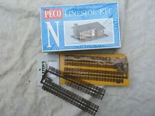 PECO LINESIDE KIT + SLATER'S FENCING N gauge Small cedarwood Bungalow