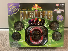 Power Rangers Mighty Morphin Legacy Power Morpher Diecast Bandai 20 anniversary
