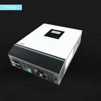 3KVA Pure Sine Wave Solar Inverter Built-in PWM 50A Solar Charge Controller LCD