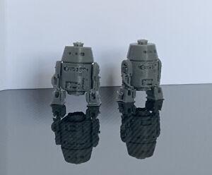 2 x C1-10P Droid Units Miniature Mini Robot (Star Wars Legion) Custom Model 3D