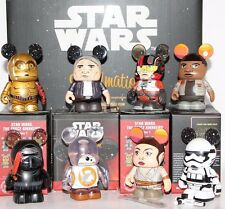 Disney Vinylmation Star Wars The Force Awakens Series 1 Set of 8 With Chaser