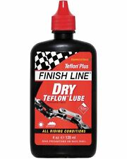 Finish Line Teflon Plus Dry chain lube 4 oz / 120 ml bottle