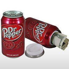 Dr Pepper 12oz Soda Can Safe Hidden Storage Secret Diversion Fake Stash B-3164