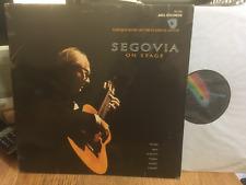 """SEGOVIA """"SUL PALCO"""" barocco/Chitarra Classica MCA 12"""" STEREO LP 162.050"""