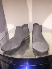 Marks and Spencer Twiggy Collection Chelsea Ankle Boots, Khaki, UK 6.5