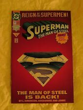 SUPERMAN THE MAN OF STEEL 22 (DIE CUT COLLECTOR'S EDITION) 1993 (VF)
