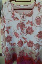 862 NEU Boysens Tunika Bluse Shirt Gr 34-40 gemustert