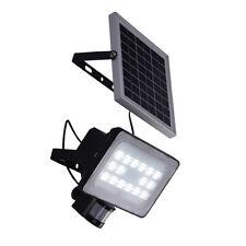 30W mit Bewegungsmelder LED Solar Lampe Außen Fluter Strahler Solarleuchte IP65