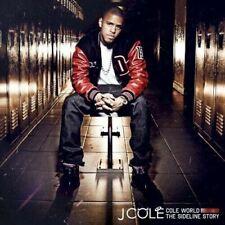 J Cole - Cole World: The Sideline Story + Bonus Track - New CD - Damaged Case