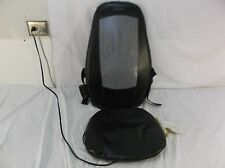 Shiatsu Homedics Lumbar Chairs Massage Cushion  Model MCS-100 Black & Silver