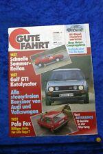Buona IN Auto 3/86 VW Golf Gti Catalizzatore VW Polo Fox