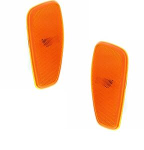 FITS JEEP RENEGADE 2015-2018 FRONT SIDE MARKER LIGHTS LAMPS LEFT RIGHT PAIR