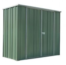 YardSaver Slimline F63 2.105m x 1.07m Double Door Colour Shed - AUG SPECIAL